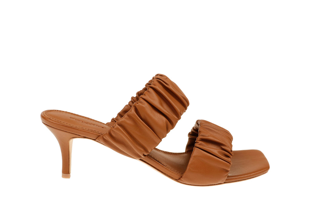 Sadie Kitten Heel - Brown