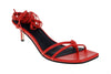 Olympia Kitten Heel - Red