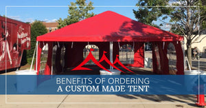 Benefits of Ordering Custom Party Tents