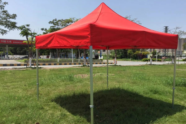 Canopy pop up tent red
