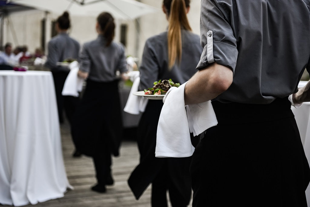 Catering for Outdoor Event Tent