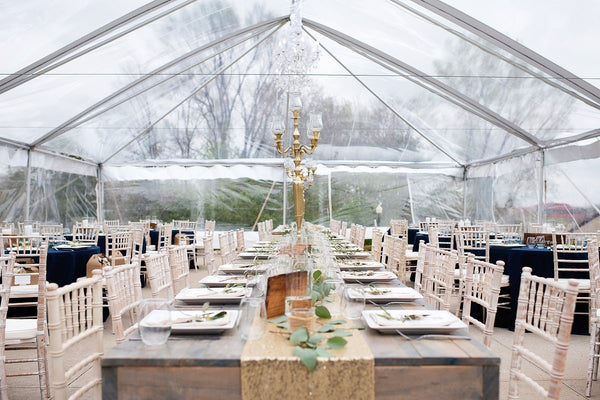 Clear Top Tents for Winter Events