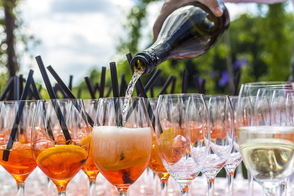 Drinks for Outdoor Event Tent
