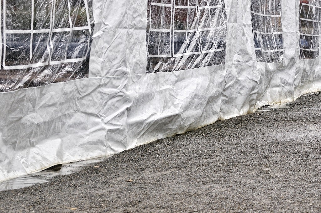 how to check waterproof tent