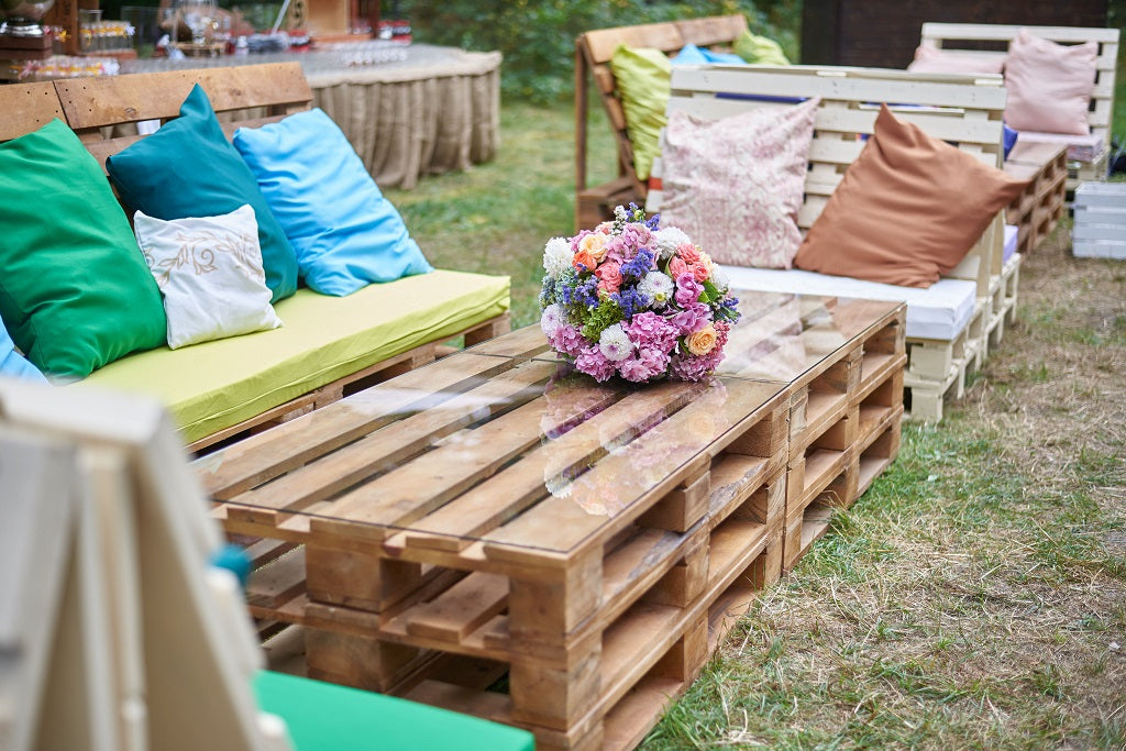 Lounge Area for Baby Shower