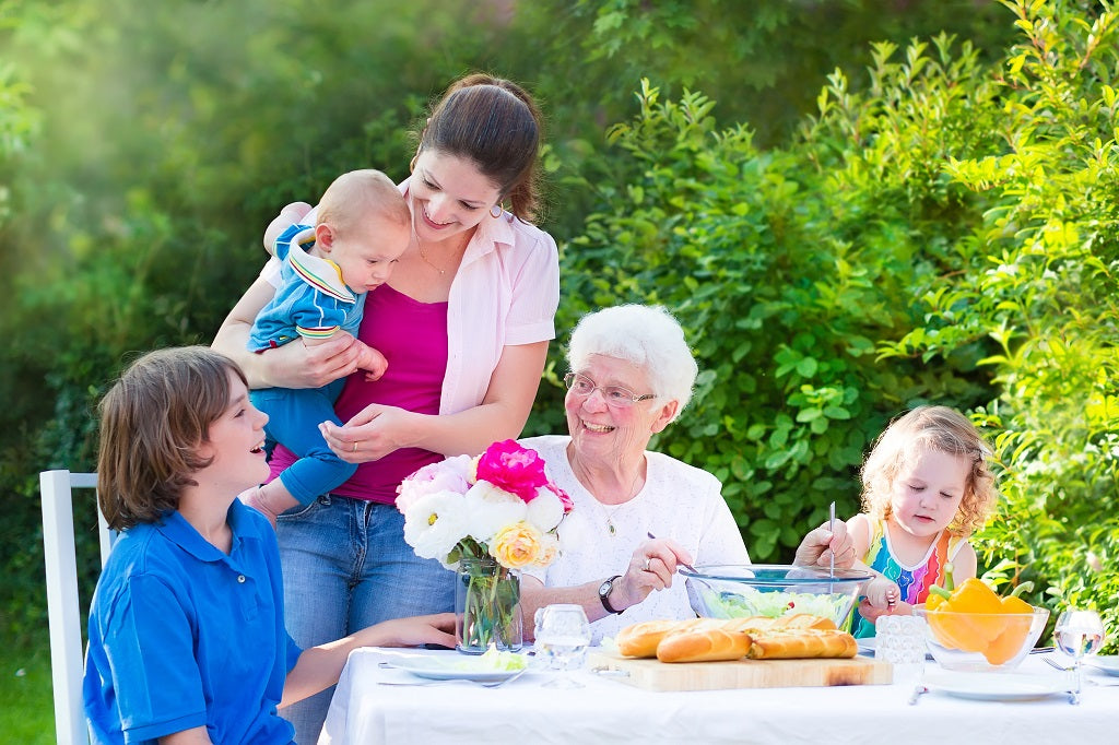 Mothers Day Outdoor Party Celebration