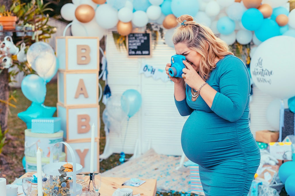Photo Booth for Baby Shower Event Tent