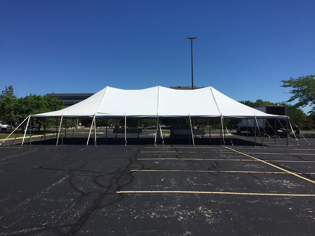 Pole Tent for Garage