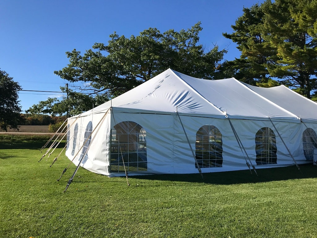 Pole Tent for Gym
