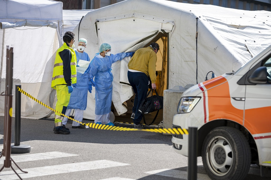What Is a Medical Examination Tent
