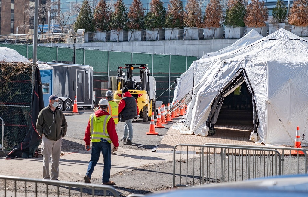 Where Can a Jobsite Tent Be Used