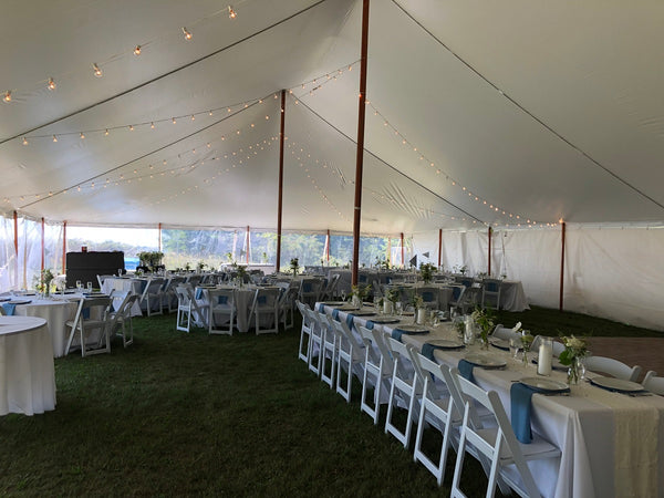 event tent with side walls