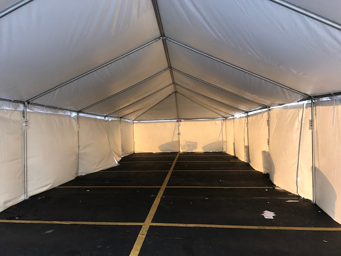 20x60 Frame Tent - American Tent & Sidewall (NEW Tent Manufacturing LLC)