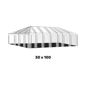 30x100 Clear Top Tent