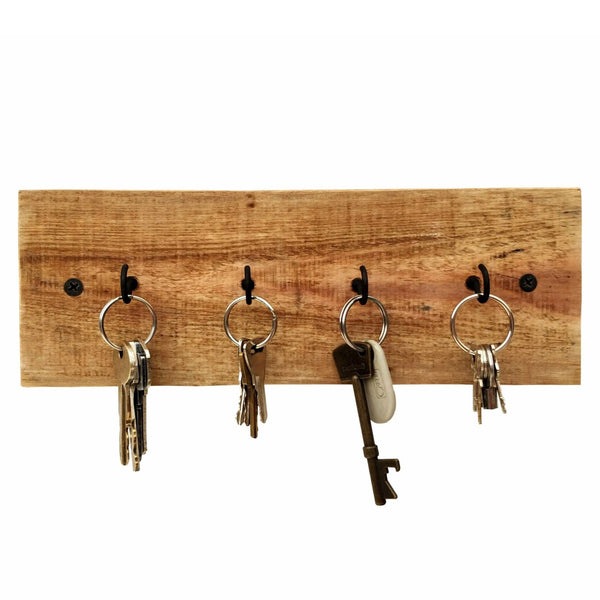 Rustic Key Holder Reclaimed Wood