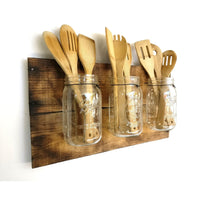 Rustic Kitchen Organizer Farmhouse