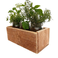 Rustic Planter Box Reclaimed Wood