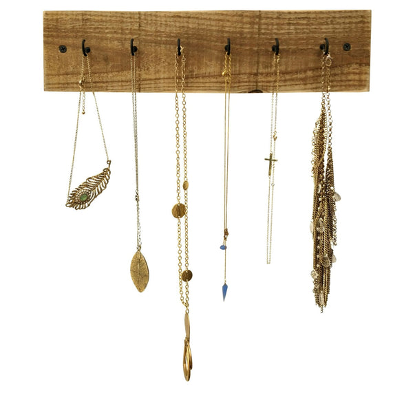 Rustic Wood Necklace Holder Reclaimed