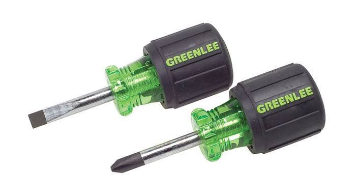 SCREWDRIVER SET,STUBBY,2PC - 0153-04C