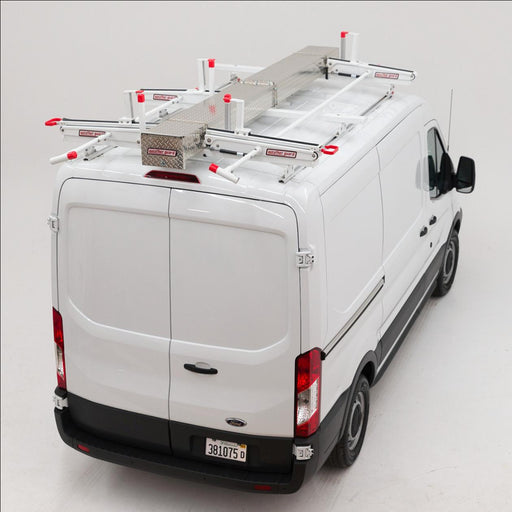 EZGLIDE2 Fixed Drop-Down for Compact Vans Short Ladder Dual Drop-down kit w/Cross Member - 134105