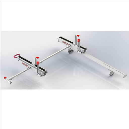 EZGLIDE2 Extended Drop-Down for Mid-Roof/High-Roof Van Short Ladder Dual Drop-down kit w/Cross Member - 145063