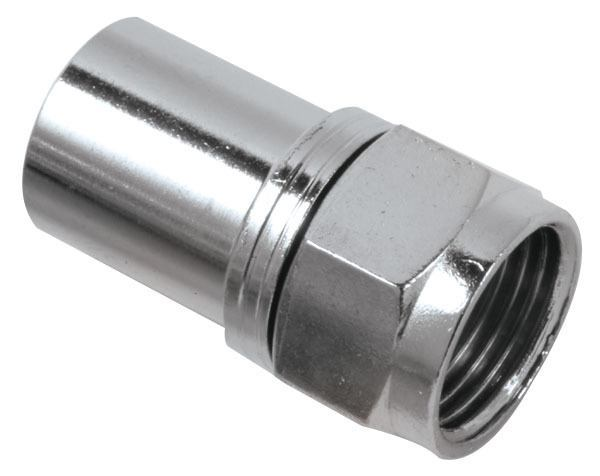 CONNECTOR,F CRIMP-RG6 Q (50 PAK) - '45324