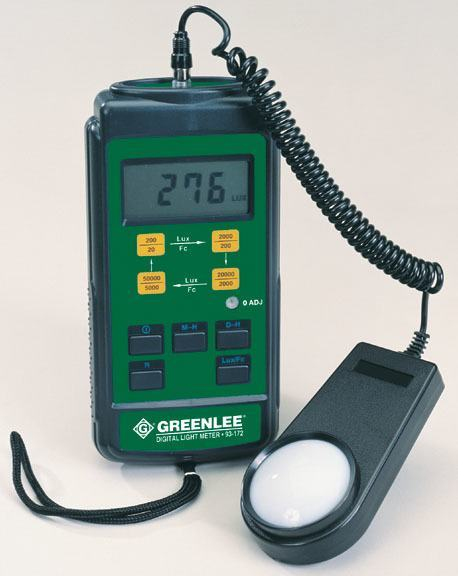 LIGHT METER - (GREENLEE 93-1065) - RENTAL