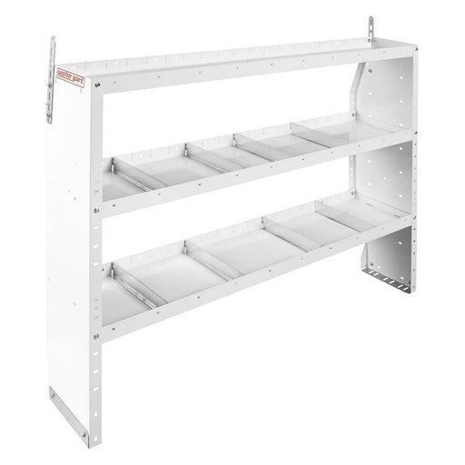 Adjustable 3 Shelf Unit, 60 in x 44 in x 13-1/2 in - 2723312