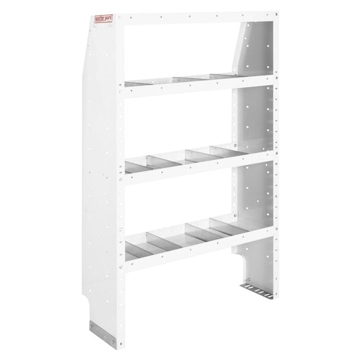 Adjustable 4 Shelf Unit, 42 in x 60 in x 13-1/2 in - 2729886
