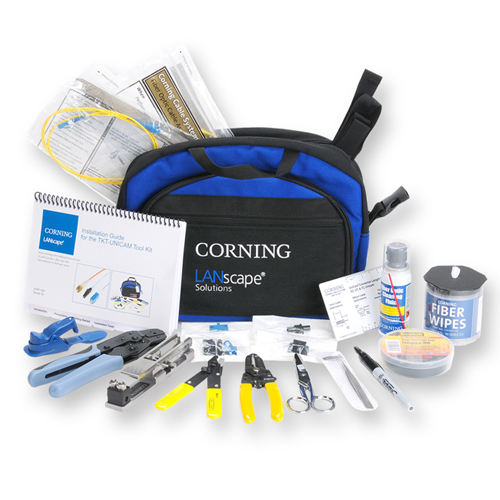 FIBER TERMINATION KIT RENTAL - (CORNING TKT-UNICAM)