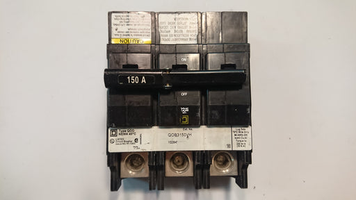 150A 3-Pole Circuit Breaker - Square D - (Q0B 3150VH)