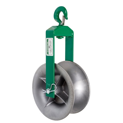 HOOK SHEAVE RENTAL, 12 INCH - (GREENLEE 651)