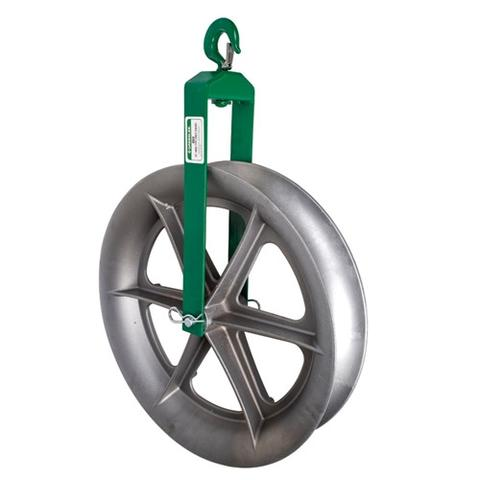 HOOK SHEAVE RENTAL, 24 INCH 4000 LB - (GREENLEE 653)