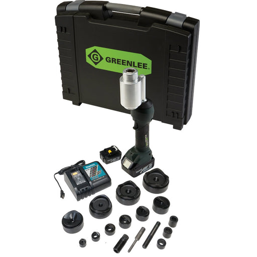 KNOCK OUT SET RENTAL, ELECTRIC, UP TO 4 INCH (GREENLEE LS100X11SB4)