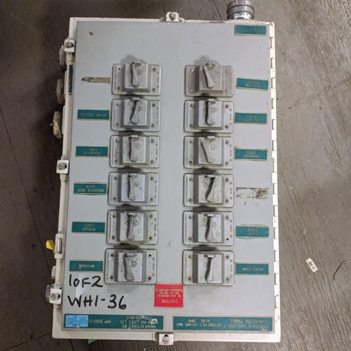 Power Distribution Panel 120/208V 100A  - Hammond - (1448N4F8)
