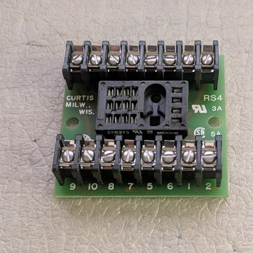 20 Pin Socket 3-5A 125V - Curtis. Milw. Wis. - (RS4)
