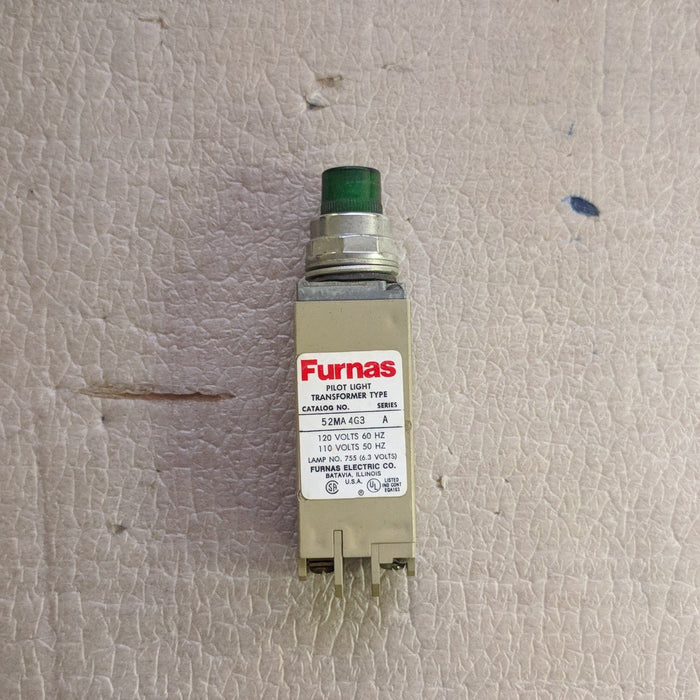 Indicating Light Green 120V - Furnas - (52MA4G3)