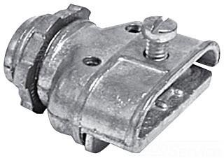 "BX Connector 1/2"" Duplex - Thomas & Betts - (CPC050SS)"