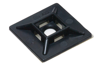 "Adhesive Mounting Base  Black UV 1"" x 1"" - 93512-B100"