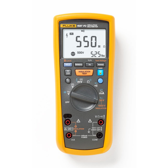MEGGER INSULATION TESTER RENTAL, 1KV  - (FLUKE 1587)