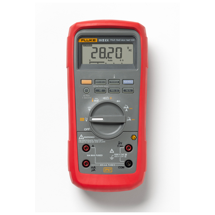 Intrinsically Safe Digital Multimeter - (Fluke 28 II Ex) - RENTAL