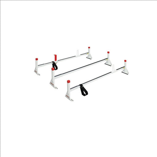 Three bar All-Purpose Steel Van Rack - Gutter Mount - 216-3