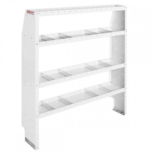 Adjustable 4 Shelf Unit, 52 in x 60 in x 13-1/2 in - 2730251
