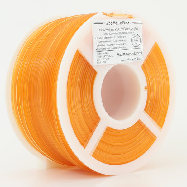 Amber Mad Maker PLA+ 1kg 1.75mm