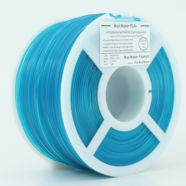 Aquamarine Mad Maker PLA+ 1kg 1.75mm