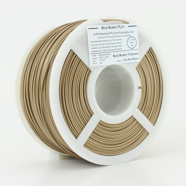 Barefoot Brown Mad Maker PLA+ 1kg 1.75mm
