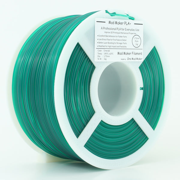 Emerald Mad Maker PLA+ 1kg 1.75mm