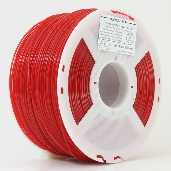 Ruby Mad Maker PLA+ 1.75mm