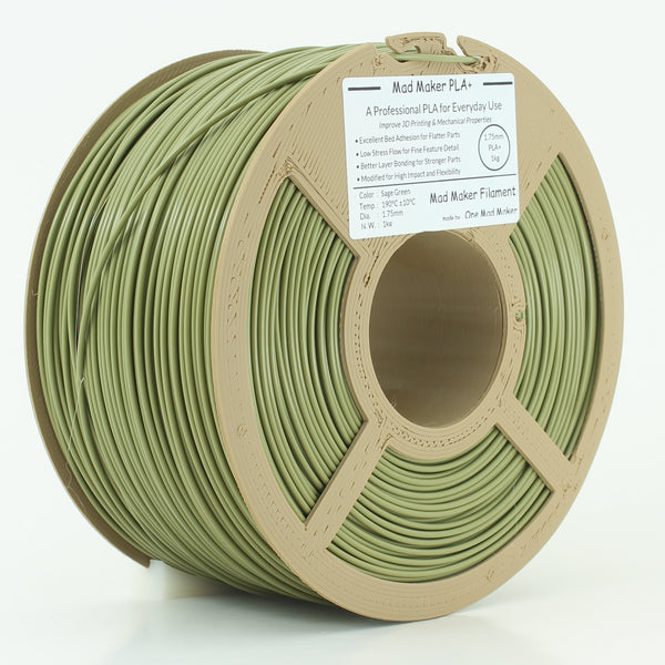 Sage Green Mad Maker PLA+ 1kg 1.75mm