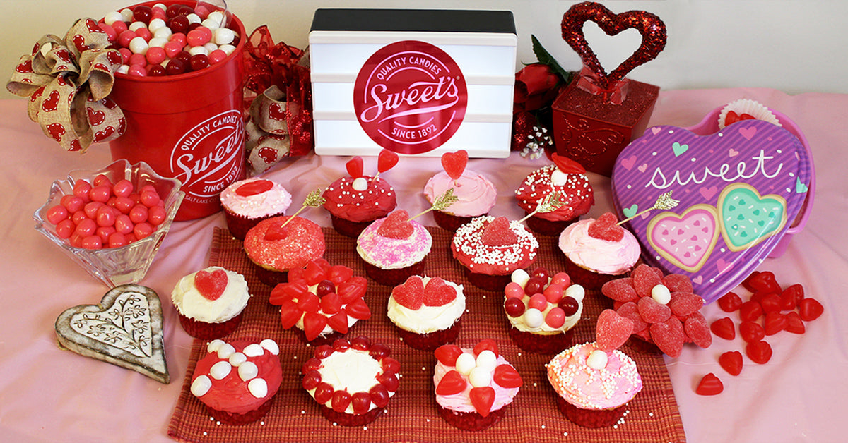 Valentine S Day Cupcakes From Sweet Candy Company